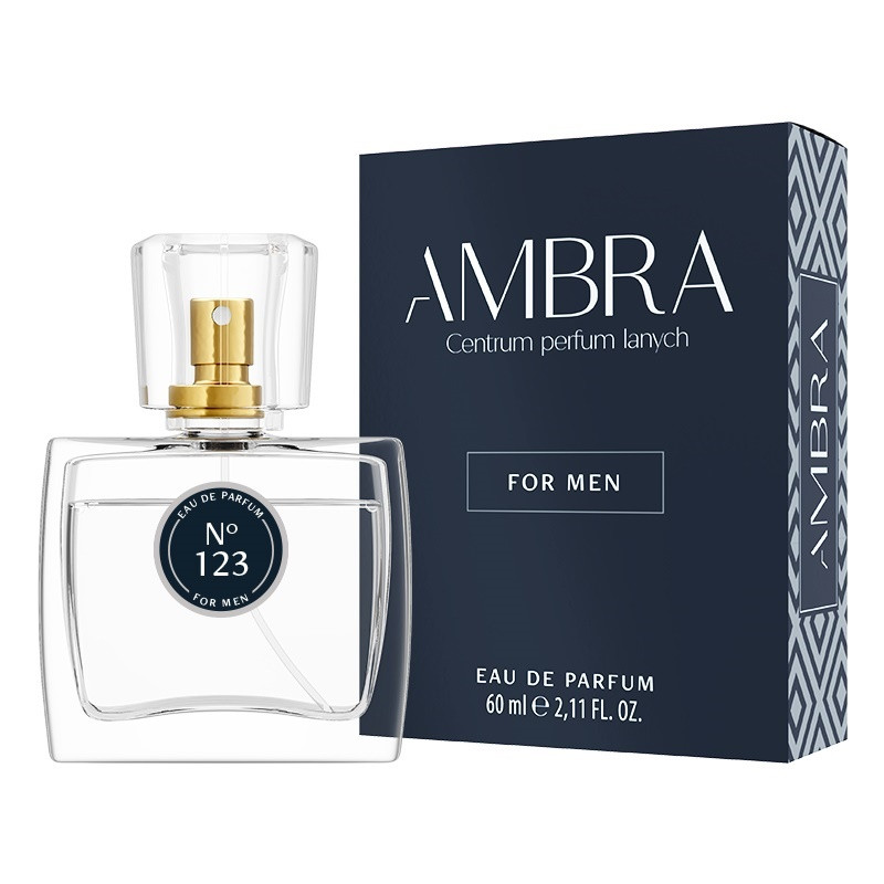 123. AMBRA Woda perfumowana, Wybierz wariant: 60ml
