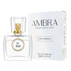 360 AMBRA rozlewane perfumy