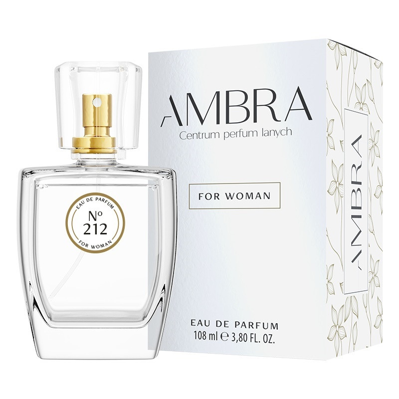 212. AMBRA Woda perfumowana, Wybierz wariant: 108ml