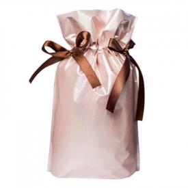 Worek prezentowy perłowy róż
