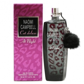 102.  CAT DELUXE AT NIGHT - Naomi Campbell