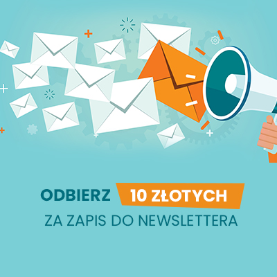 10zł za zapis do newslettera