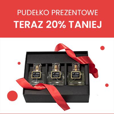 Pudełko prezentowe 20% taniej